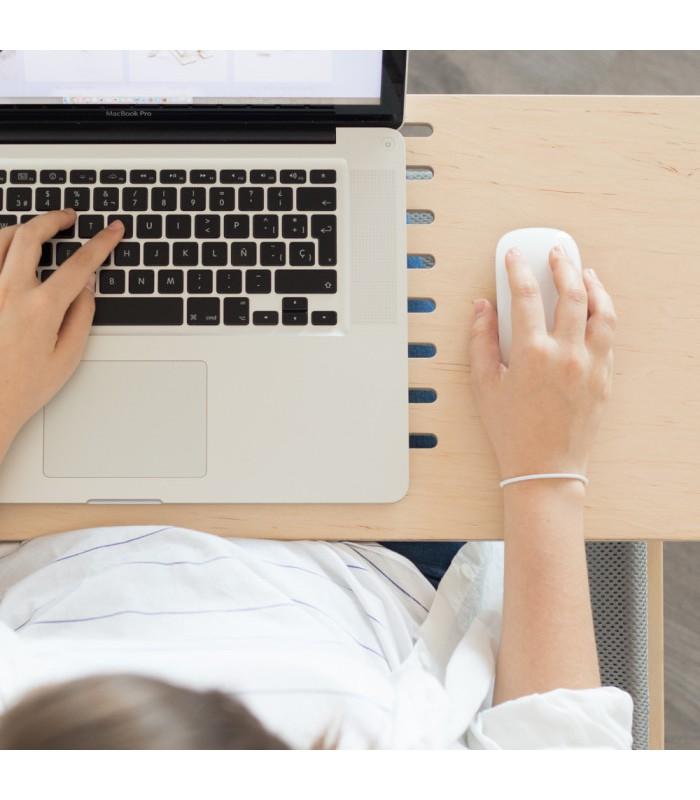 Support en bois pour ordinateur portable Delaptop Coolfidential # Support Ordinateur Portable Bois