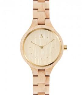 Montre en bois au design élégant - Collection pour femme THE GEESE