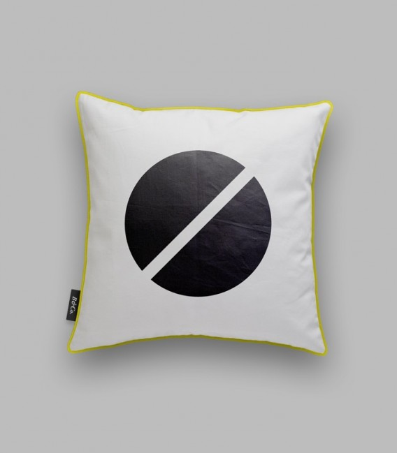 Coussin Rond Noir Coolfidential