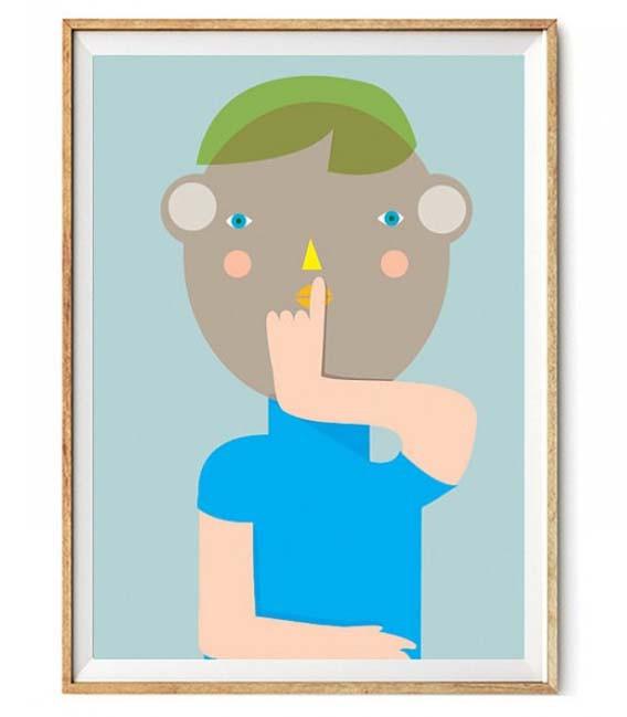 Láminas, ilustraciones y posters