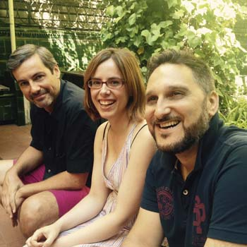 Llúcia Bernet, Oriol Quadrada, Daniel Sluckis - Ramonas Barcelona